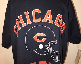 8c1ca4ee Vintage 80's NFL Football Chicago Bears Champion Monsters Of Midway T-Shirt  New Old Stock Single Stitch USA Made