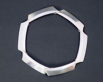14544c36b7d Georg Jensen Modernist Sterling Silver Link Bracelet by Bent Gabrielsen