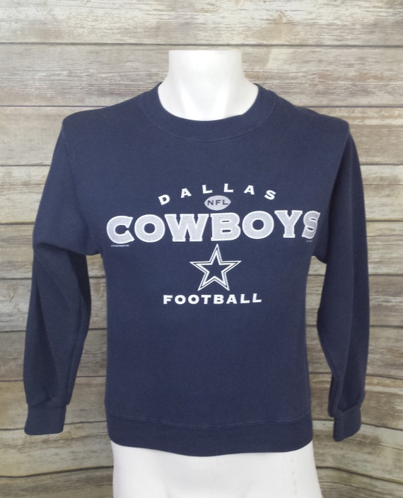 40a6be061 Dallas Cowboys LEE Sport Blue Vintage Pullover 50 50 Sweater