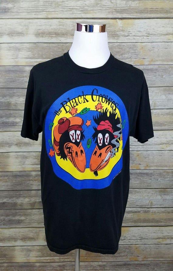 The Black Crowes 1993 Rock Concert Tour Shirt Adul