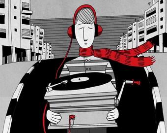 Music Printable Art, music prints, , Music Lover Gift, Music Poster, Rock Art, Teenager Gift, poster music, poster musik