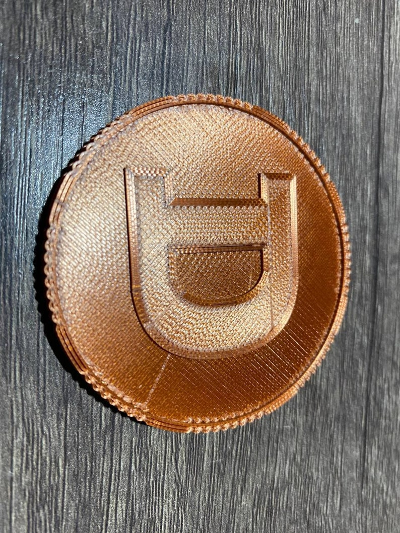 3D Printed Doge Coin