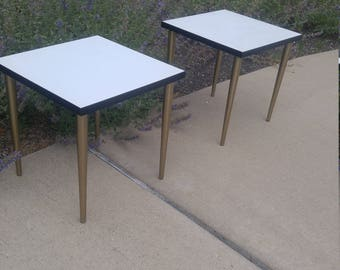 Mid-Century Modern Stacking Tables (2)