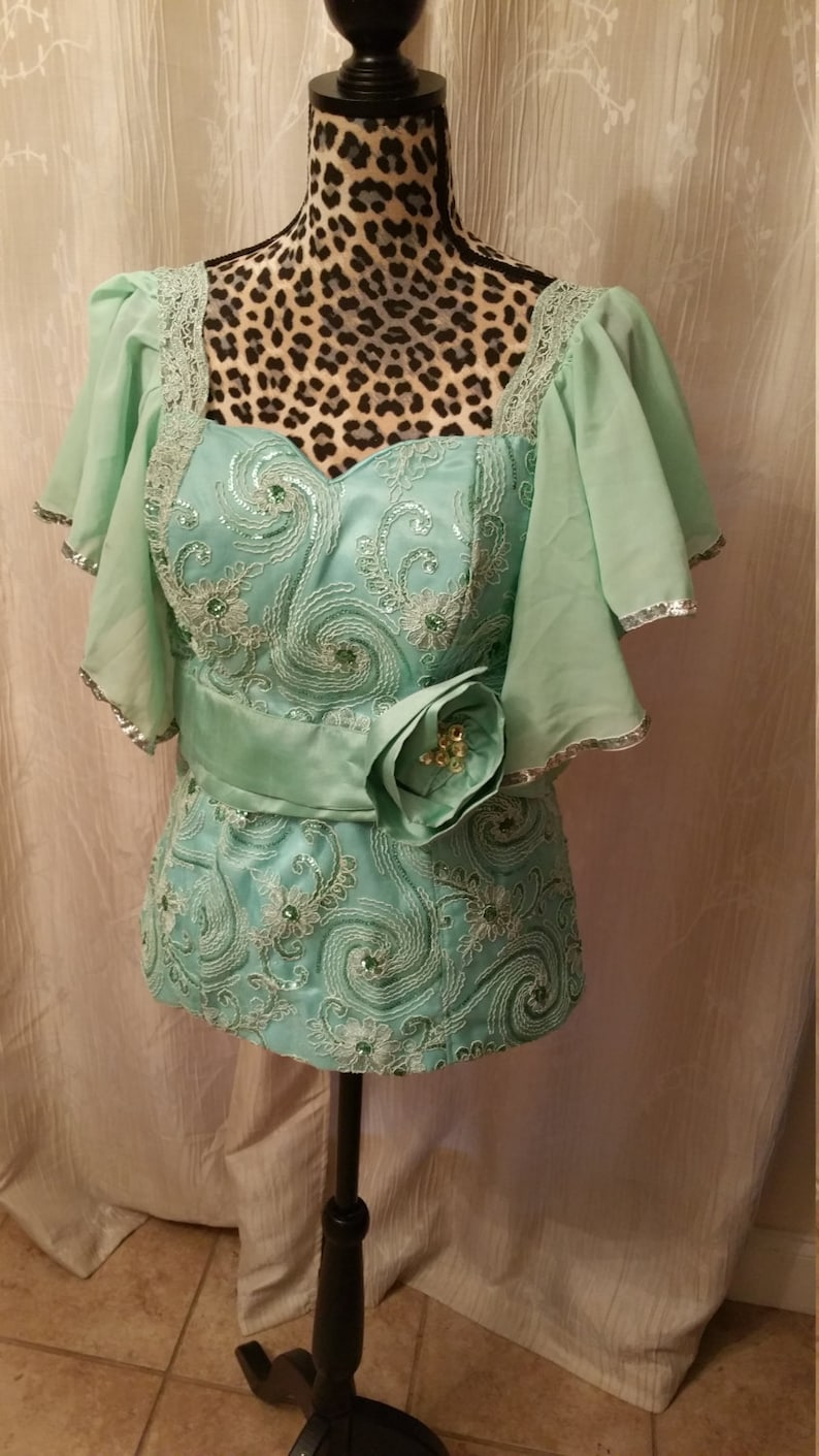 Large size blouse Lace Blouse top African Lace Blouse lace fabric Top