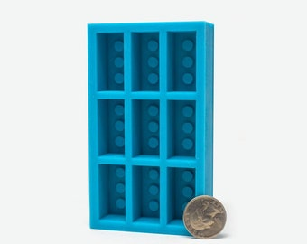 1:6 Scale Red Brick Mold   miniature house supply   silicone mold   diy craft supply   modern dollhouse   miniature building supplies