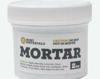 Mortaring Adhesive   Mini Cinder Block Adhesive   Miniature DIY craft adhesive   concrete block adhesive