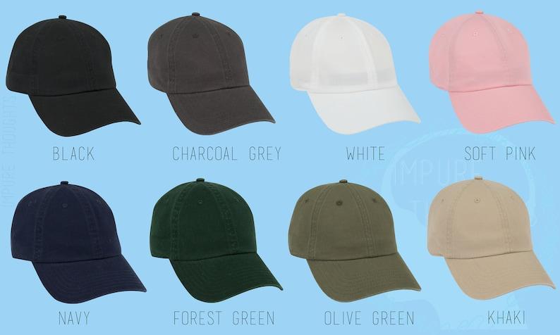 FEMINIST Dad Hat Embroidered Baseball Black Cap Low Profile Custom Strap Back Unisex Adjustable Cotton Baseball Hat