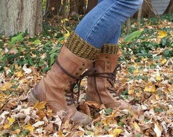 Textured Boot Cuffs