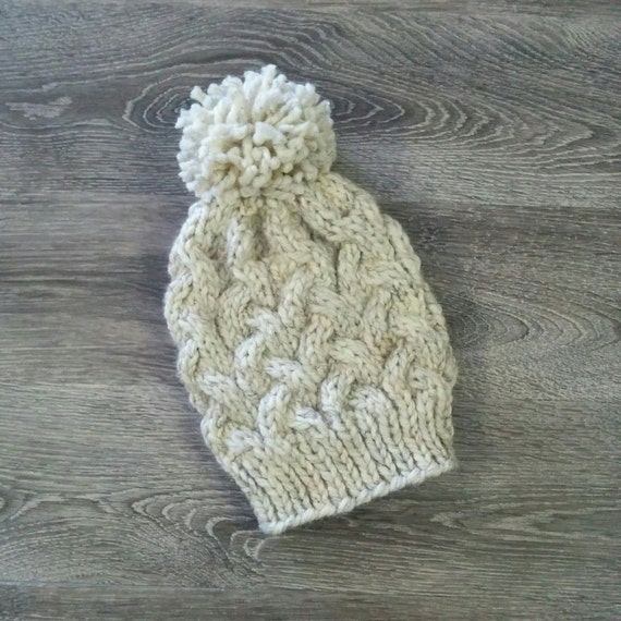 Cable Knit Hat PATTERN  29ae24ad71c