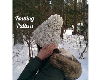 Cable Knit Hat PATTERN / Granger Hat