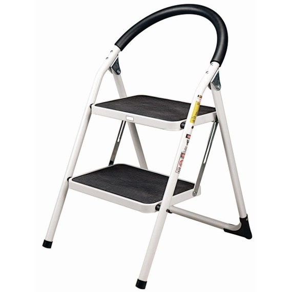 Strange Fold Up Indoor Outdoor Step Stool Chair Reach Ladder Home And Shop Tool Pabps2019 Chair Design Images Pabps2019Com