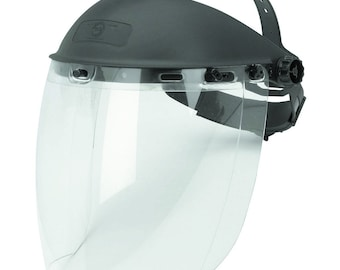 Brand New Full Face Clear Safety ProtectorTool Shield Guard for use with power tools chemicals jewelry making and more
