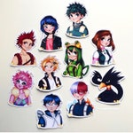 My Hero Academia Stickers! Sets and Singles