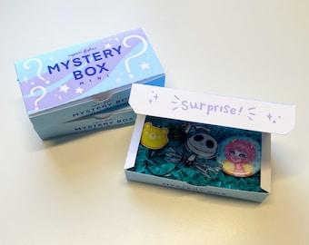 Mini Mystery Box   Blind Bag   Pins & Charms   Kawaii   Gifts   Anime   Surprise   Loot Bag   Grab Bag   Lucky Bag   Random Items