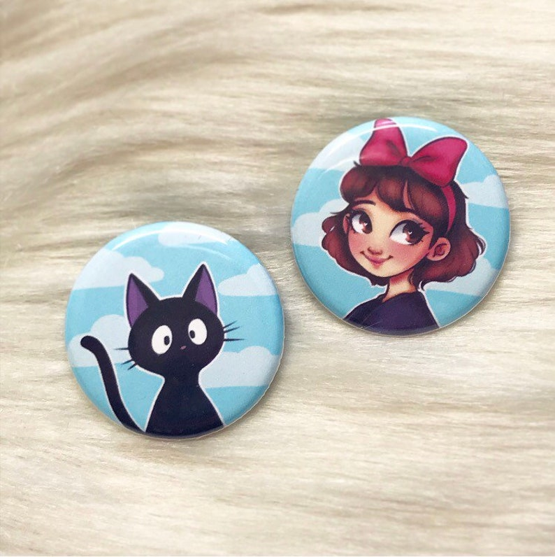 Kiki's Delivery Service Buttons image 0