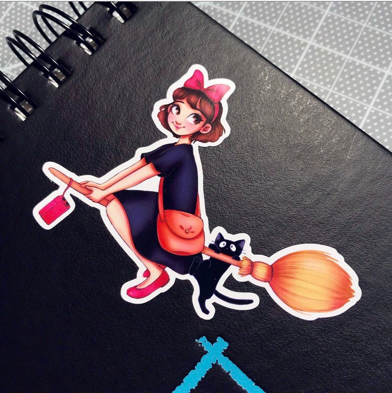 Kiki's Delivery Service Stickers image 0