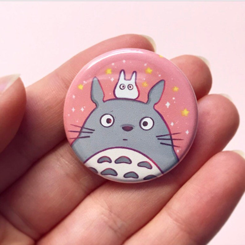 My Neighbor Totoro Buttons image 0