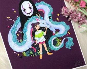 Spirited Away Print