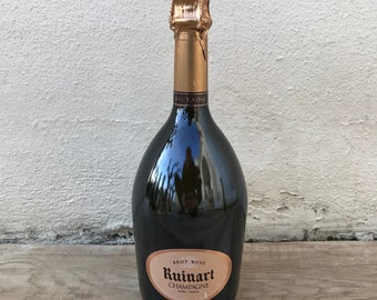 EMPTY Display 0.75L Sealed Dummy Champagne Bottle RUINART Rose 2203187