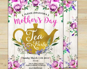 mothers day invite etsy