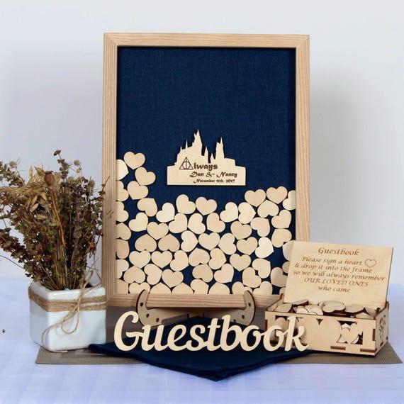 Harry Potter Wedding Guest Book Alternative Hogwarts Harry Etsy
