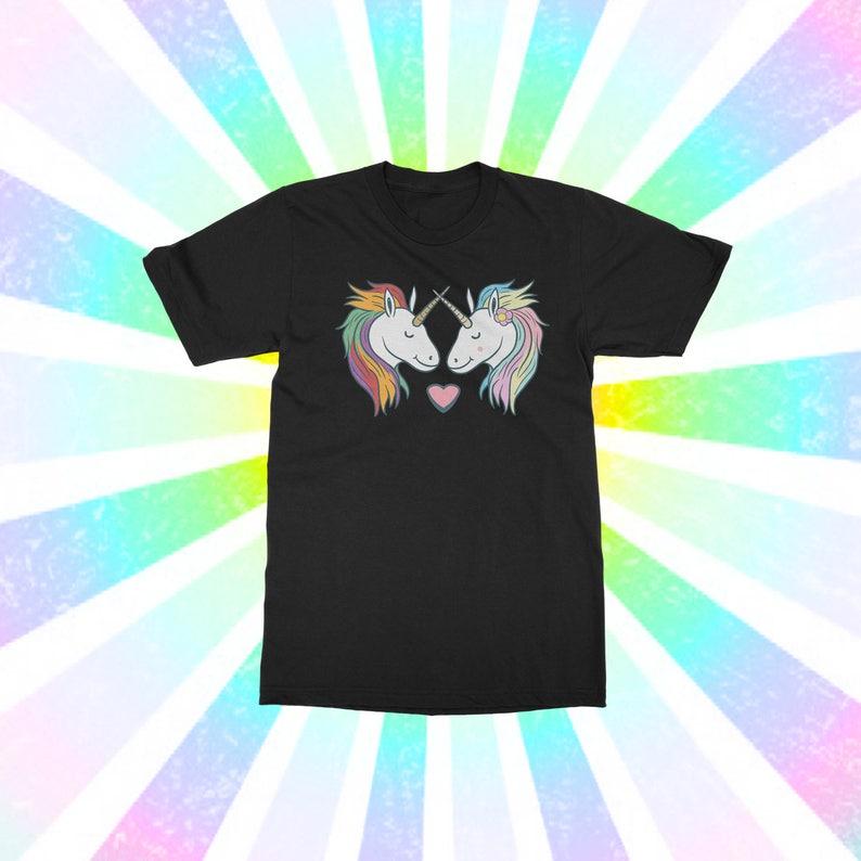 60672003d6a Unicorn Lovers Unicorn Shirt Couples Shirt Name Shirt