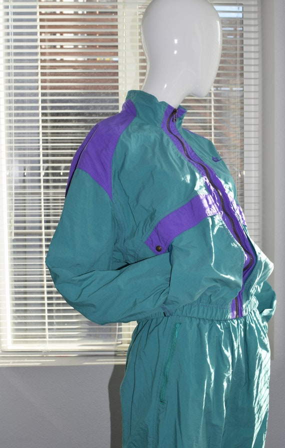 90s Teal Nike Tracksuit