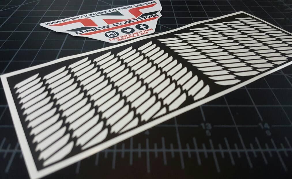 Oregon foamposite wings pattern stencil etsy