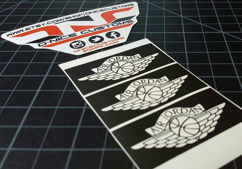 reputable site 6269b dd92c Air Jordan Wing Logo Stencil   Etsy