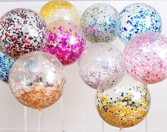Giant Confetti Balloons Large Balloon Wedding Birthday Baby Shower Party