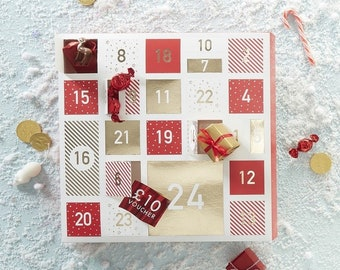 Advent Calendar Diy Etsy