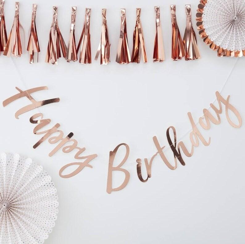 Rose 16 ans Décoration Bunting Ballon Bannière Filles Fête D/'Anniversaire Sixteen
