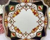Set of 4 Royal Staffordshire Imari square plate