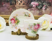 Paragon double warranted teacup and saucer