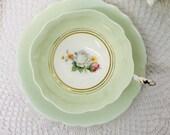 Paragon double warrranted teacup and saucer circa 1939-1949.