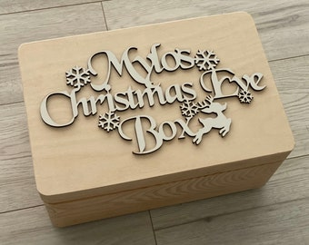 Personalised Christmas Eve Box,  Topper