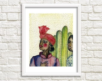 Pride Illustration, Art Print