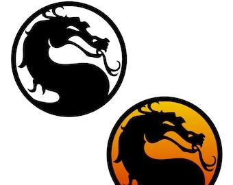 Mortal Kombat Svg Etsy