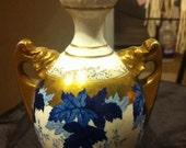 Antique amphora bottle or vase