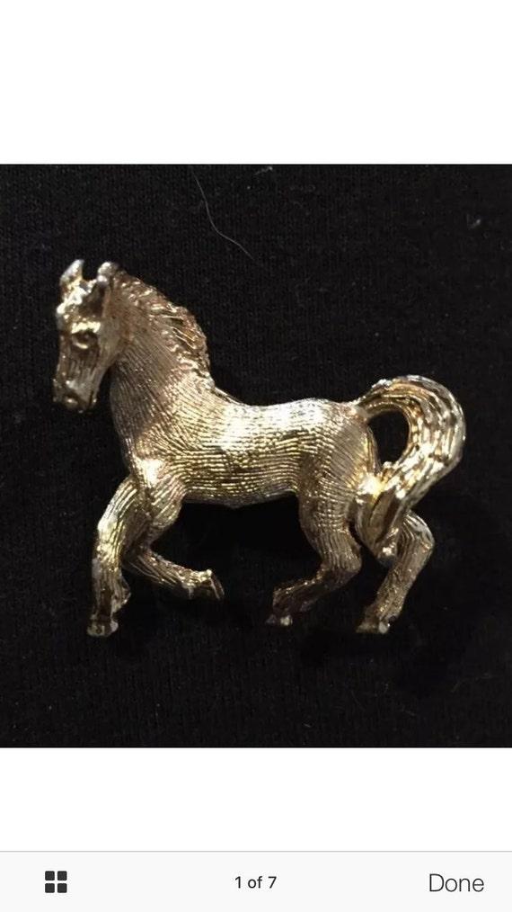 Lovely horse broach