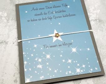 Star Child Bracelet, Keepsake, Memory Bracelet, Guardian Angel, Miscarriage, Silent Birth