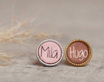 Personalized sliding bead with desired name | Photo Bead | Children's Name | Name in Pearl | Personalised Pearl with Name | Slider