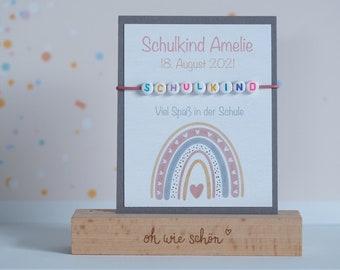 Training delicate bracelet personalized   School bag   School child   Schooling 2021