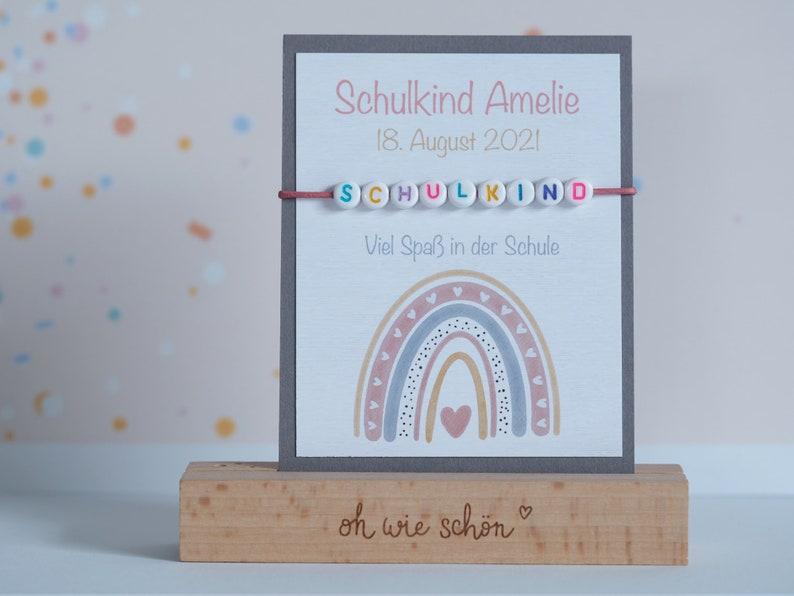 Training delicate bracelet personalized  School bag  School image 0