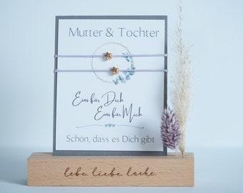 Mother & Daughter Bracelet | Hearts | Friendship bracelet | Love | Mother Daughter