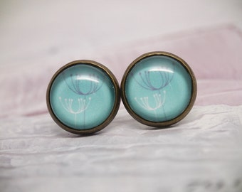 Studs Pusteblumen | 12 mm stud earrings | autumnal earring