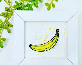 Resin Shaker Filling Inlays Bananas Yellow Realistic 10g20g