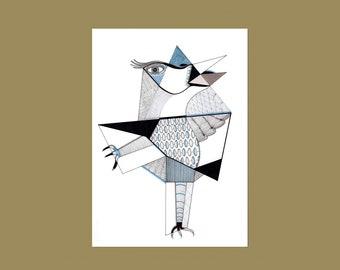 Postcard Bird