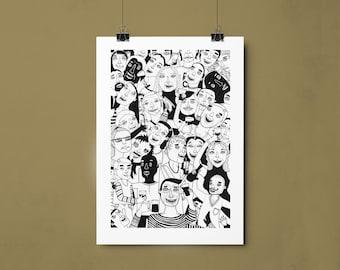 Party Artprint a4