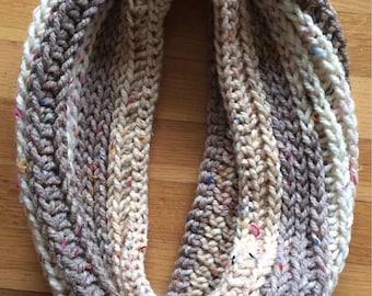 Crochet Sprinkles Infinity Scarf